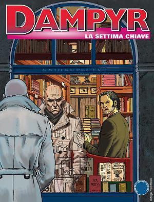 La settima chiave - Dampyr 205 cover