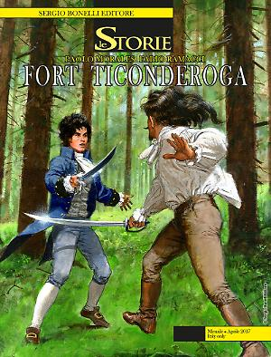 Fort Ticonderoga - Le Storie 55 cover