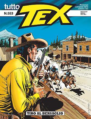Tiro al bersaglio - Tutto Tex 553 cover