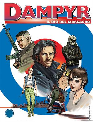 Il dio del massacro - Dampyr 206 cover
