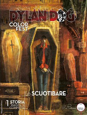 Lo scuotibare - Dylan Dog Color Fest 21 cover