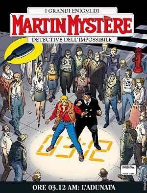 Ore 3.12 AM: l'adunata - Martin Mystère bimestrale 351 cover