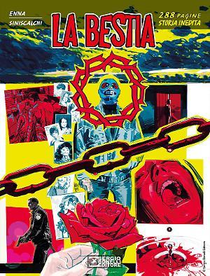 La Bestia - Romanzi a fumetti 33 cover