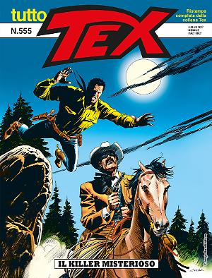 Il killer misterioso - Tutto Tex 555 cover