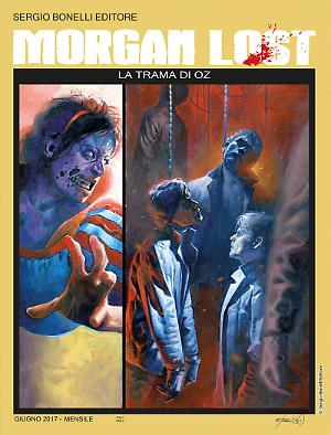 La trama di Oz - Morgan Lost 21 cover