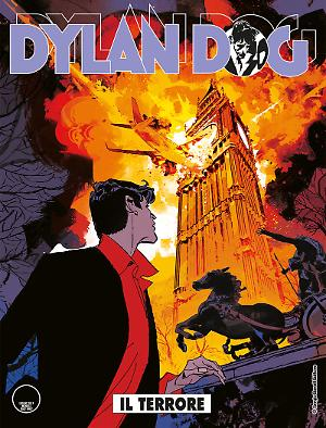 Il terrore - Dylan Dog 370 cover