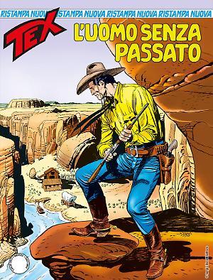 L'uomo senza passato - Tex Nuova Ristampa 423 cover