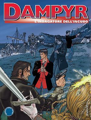 L'Indagatore dell'Incubo - Dampyr 209 copertina A