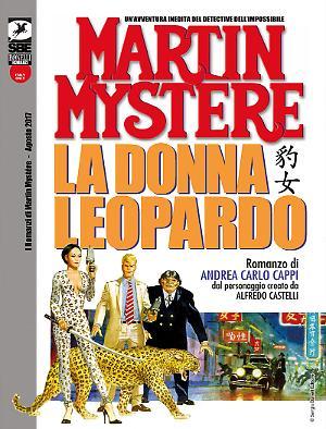 La donna leopardo - Martin Mystère libro cover