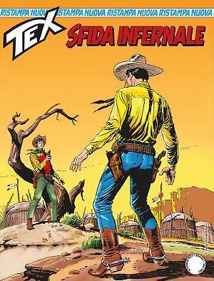 Sfida infernale - Tex Nuova Ristampa 425 cover