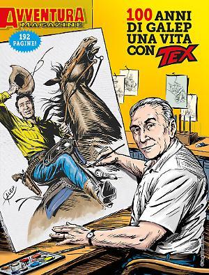 Avventura Magazine - 100 anni di Galep una vita con Tex cover