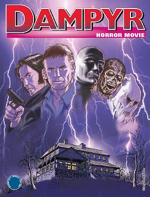Horror movie - Dampyr 211 cover