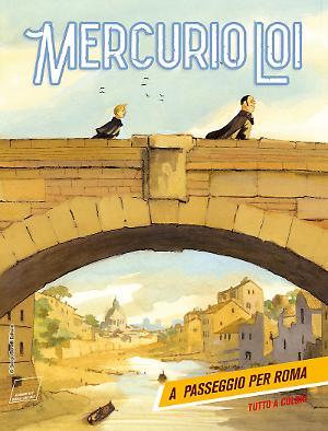 A passeggio per Roma - Mercurio Loi 06 cover