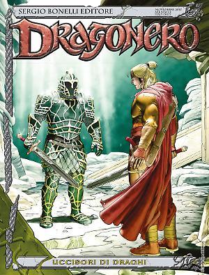 Uccisore di draghi - Dragonero 54 cover