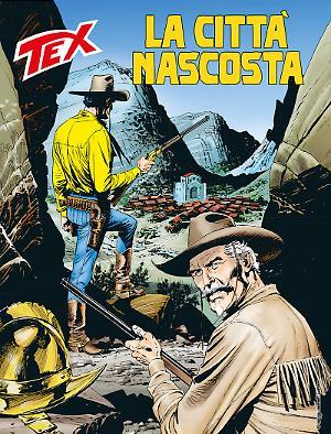 La città nascosta - Tex 686 cover