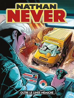 Oltre le linee nemiche - Nathan Never 319 cover
