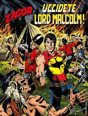 Uccidete Lord Malcom! - Zagor 630 cover