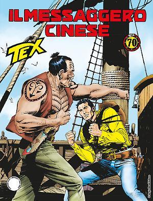 Il messaggero cinese - Tex 688 cover