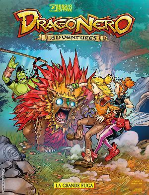 La grande fuga - Dragonero Adventures 05 cover