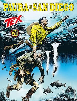 Paura a San Diego - Tex 689 cover