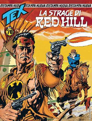 La strage di Red Hill - Tex Nuova Ristampa 431 cover