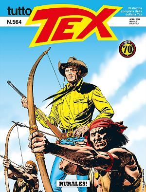 Rurales! - Tutto Tex 564 cover