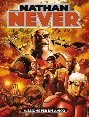 Missione per un amico - Nathan Never 323 cover