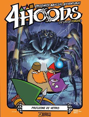 Prigioni di vetro - 4Hoods 04 cover