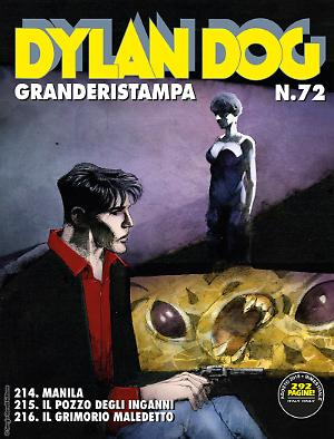 Dylan Dog Granderistampa 72 cover