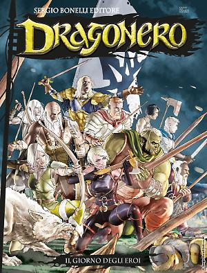 Il giorno degli eroi - Dragonero 62 cover