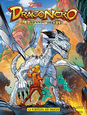 La fortezza dei draghi - Dragonero Adventures 10 cover