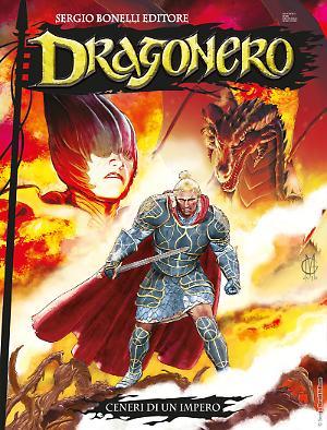 Ceneri di un impero - Dragonero 63 cover