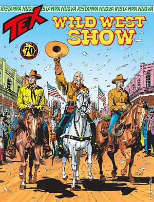 Wild West Show - Tex Nuova Ristampa 436 cover
