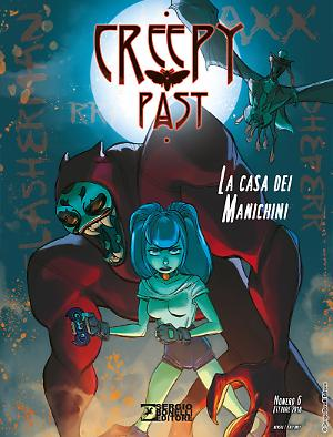 La casa dei manichini - Creepy Past 06 cover