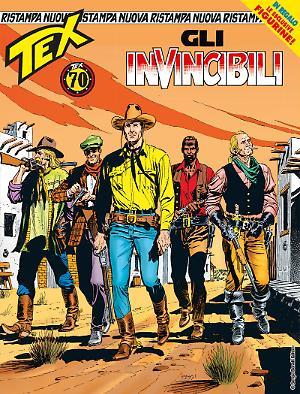 Gli invincibili - Tex Nuova Ristampa 438 cover