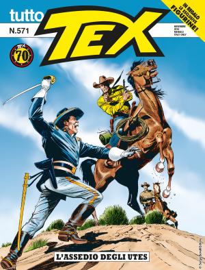 L'assedio degli Utes - Tutto Tex 571 cover