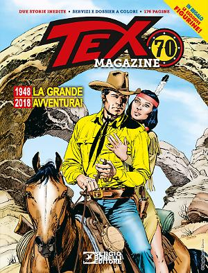 Tex Magazine 70 anni cover