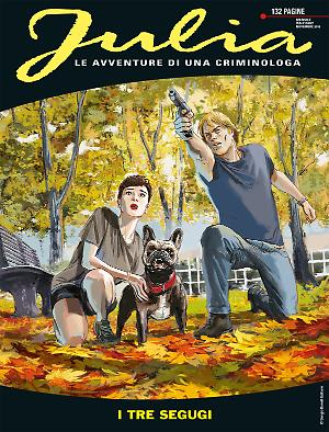 I tre segugi - Julia 242 cover