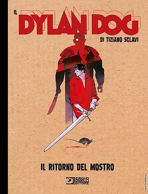 Il ritorno del mostro - Il Dylan Dog di Tiziano Sclavi 19 cover