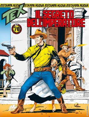 Il segreto dell'imperatore - Tex Nuova Ristampa 439 cover