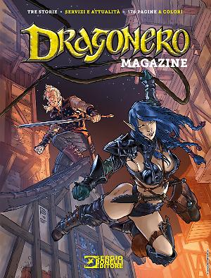 Dragonero Magazine 2018 cover