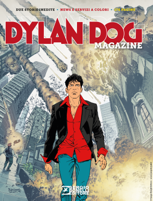 Dylan Dog Magazine 2019 cover