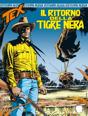Il ritorno della Tigre -Tex Nuova Ristampa 443 cover
