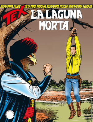 La laguna morta - Tex Nuova Ristampa 444 cover