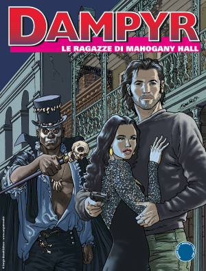 Le ragazze di Mahogany Hall - Dampyr 230 cover