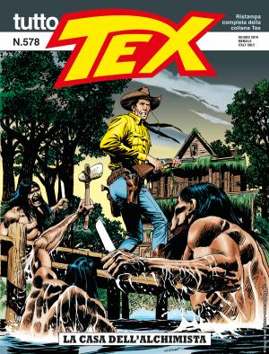 La casa dell'alchimista - Tutto Tex 578 cover