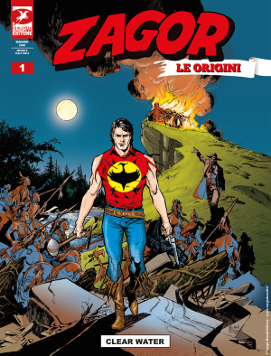 Clear Water - Zagor Le Origini 01 cover