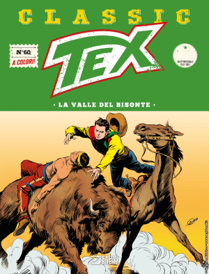 La valle del bisonte - Tex Classic 60 cover