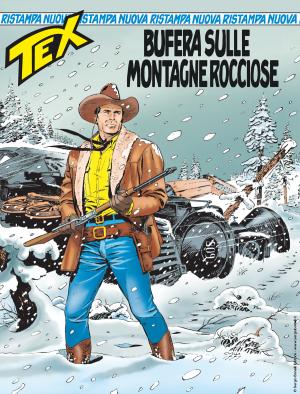 Bufera sulle Montagne Rocciose - Tex Nuova Ristampa 446 cover
