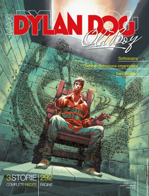 Maxi Dylan Dog n°36 cover